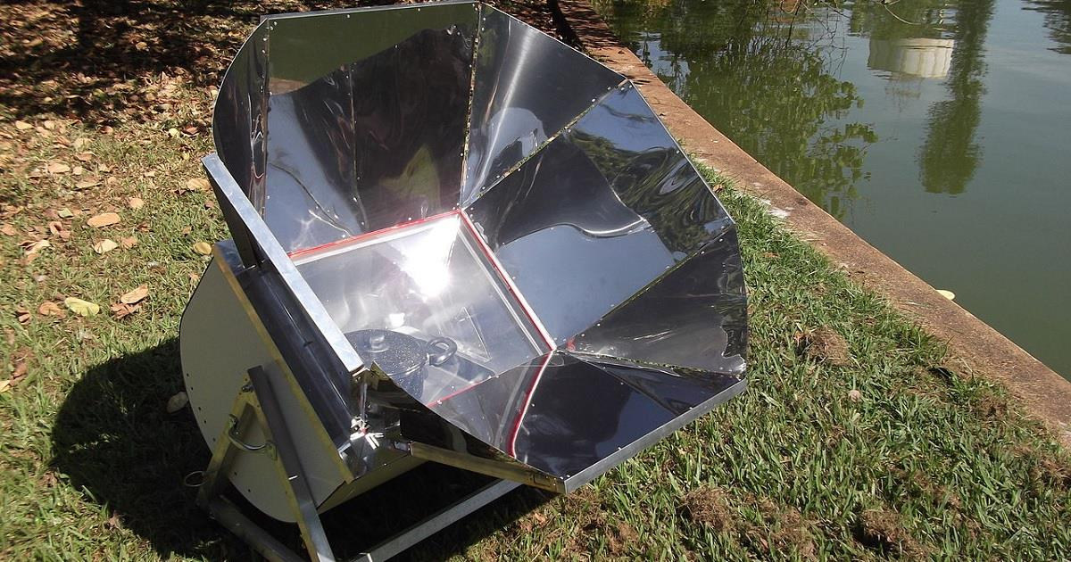 Ecco come creare in casa un forno solare fai da te - Scaldabagno solare fai da te ...