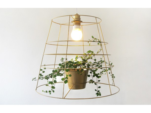 Eco design: il lampadario verde di meirav barzilay   ambiente bio