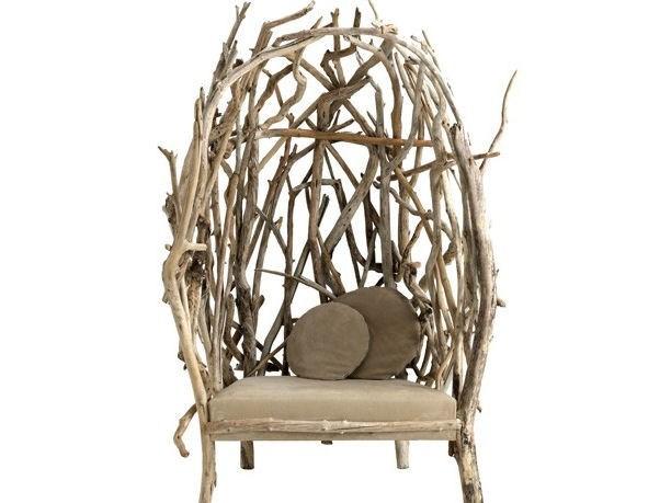 Sedia di eco design in legno by bleunature ambiente bio for Designer di mobili in legno