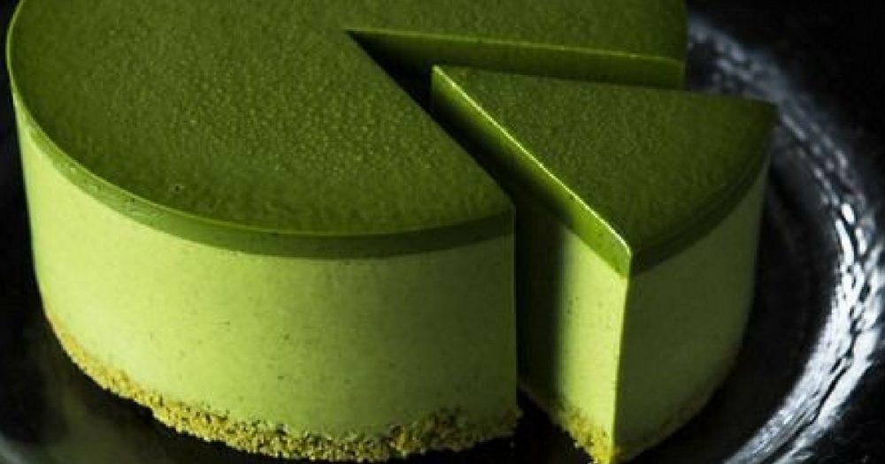 ricetta dolce al tè verde