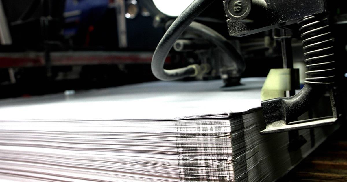 Si può stampare lo stesso foglio di carta per 20 volte?