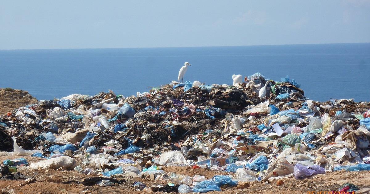 La grande discarica di rifiuti presente nell oceano