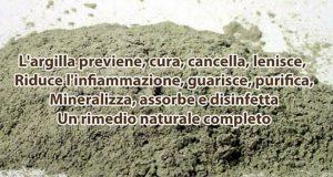 argilla benefici