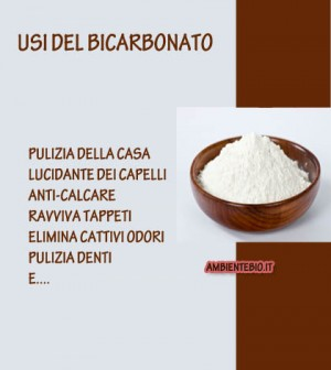 usi bicarbonato