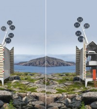 Eco design il lampadario verde di meirav barzilay - Casa ecologica autosufficiente ...