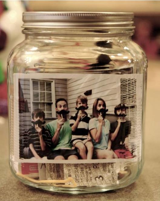 L Glass Jar