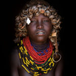 DASSANECH GIRL, OMO VALLEY,  ETHIOPIA
