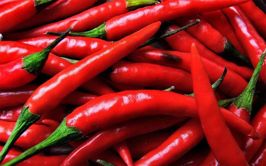 peperoncino di cayenna pepe