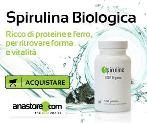 Acquistare alga spirulina biologica