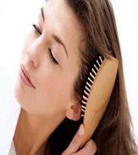 spazzolare capelli