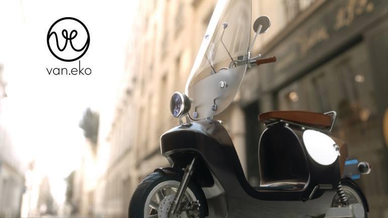 Arrivano gli scooter elettrici creati con canapa e lino