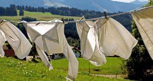 7 step per fare il bucato in maniera sostenibile