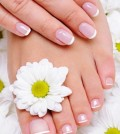 Beauty treatment for female hands and feets