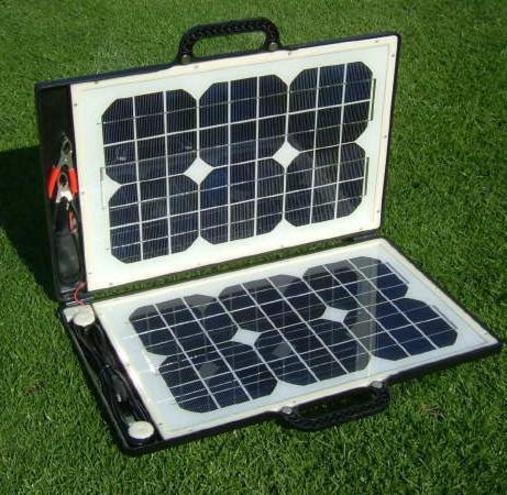 Pannello Solare A Valigetta : Solarbriefcase il pannello solare che sta dentro una
