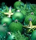 Green and gold Christmas