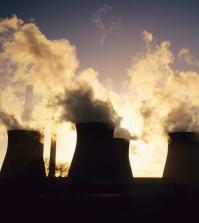 Cooling towers, Yorkshire, UK