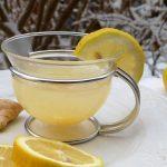 Tisana allo zenzero per combattere tosse e raffreddore