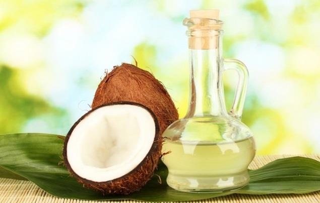 olio di cocco funghi sulla pelle