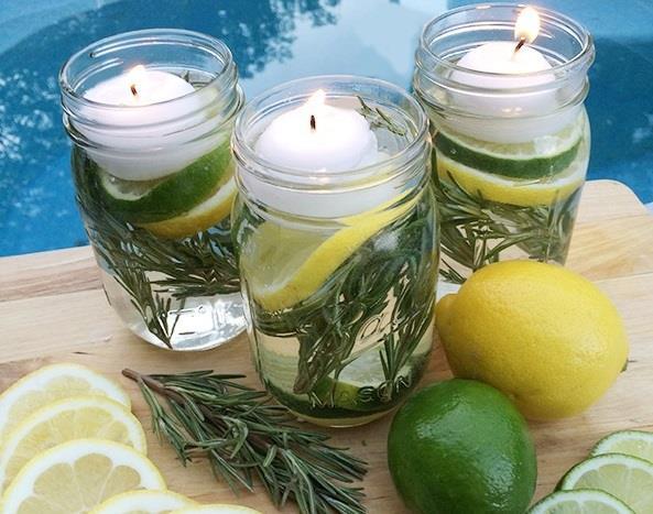 Come realizzare delle candele fai da te che tengono lontane le zanzare ambiente bio - Candele per esterno ...