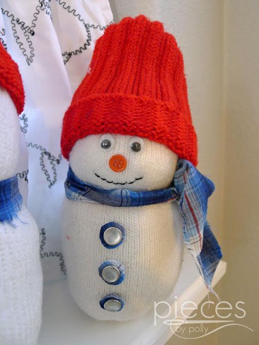 Foto: http://www.piecesbypolly.com/2013/12/granddads-sock-snowmen.html