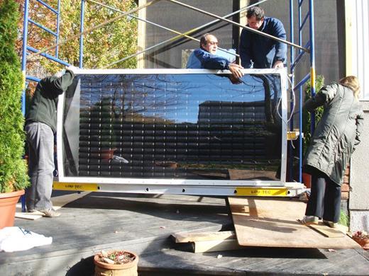 Pannello Solare Aria Calda Fai Da Te : Come costruire un pannello solare termico con delle