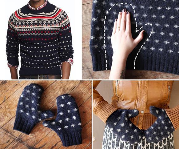 Foto: http://www.handimania.com/sew/warm-sweater-mittens.html