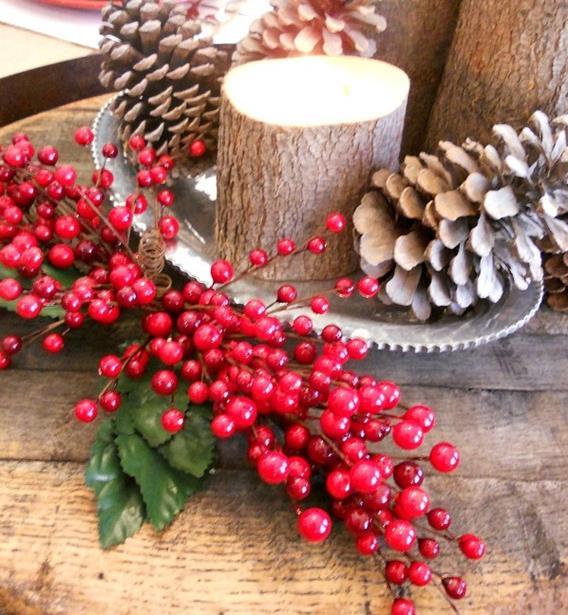 5 centrotavola natalizi da realizzare con il riciclo creativo ambiente bio - Centrotavola natalizi pinterest ...