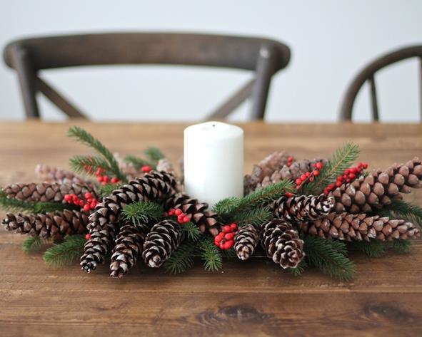 centrotavola natalizio_classico