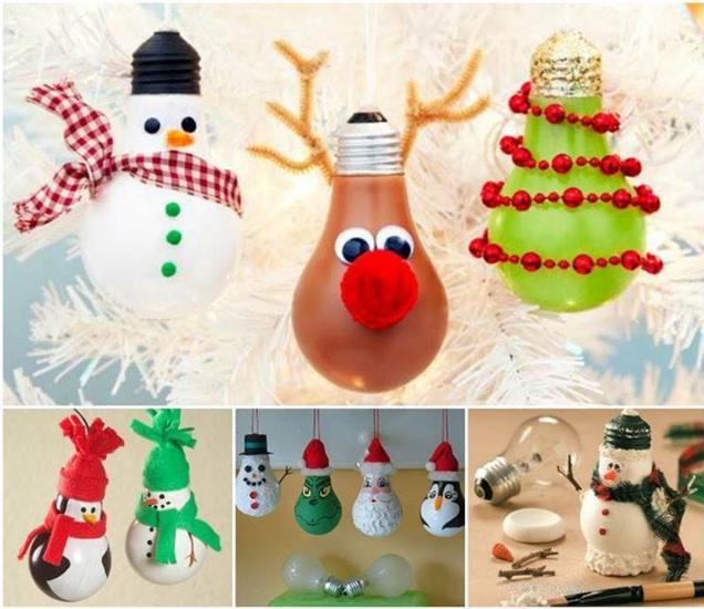 decorazioni natalizie fai da te: 5 simpatiche idee per un albero
