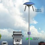 Ecco i lampioni del futuro: purificano l'aria e catturano le zanzare