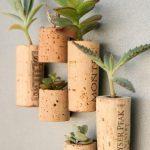 Come trasformare i tappi di sughero in piante col riciclo creativo