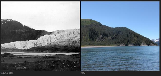 McCarty Glacier melt, Alaska