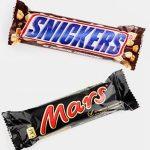 Maxi ritiro dagli scaffali di barrette Mars e Snickers