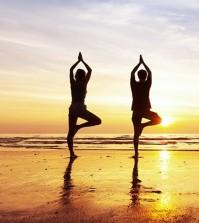 yoga, mattina