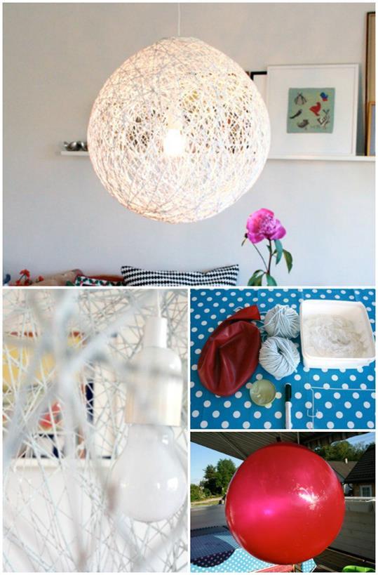7 lampadari fai da te da realizzare con il riciclo ...