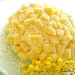 Torta mimosa vegan per una festa della donna cruelty-free