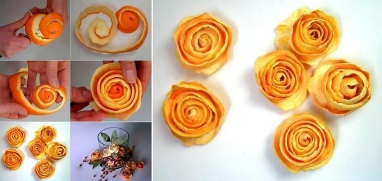 Come riutilizzare le bucce d'arancia