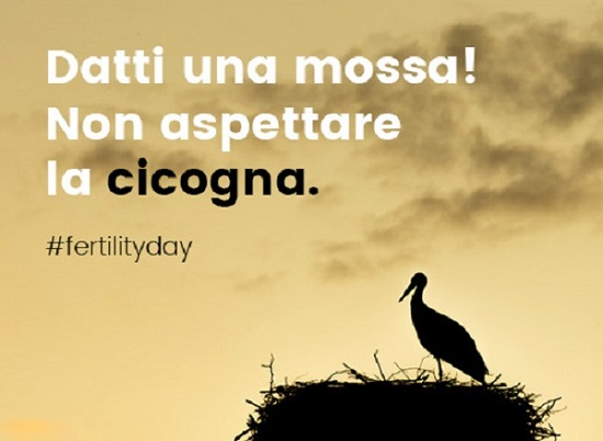 Fertility Day: la cicogna