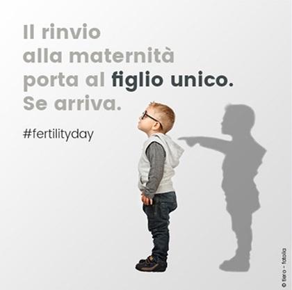 Fertility Day: figlio unico