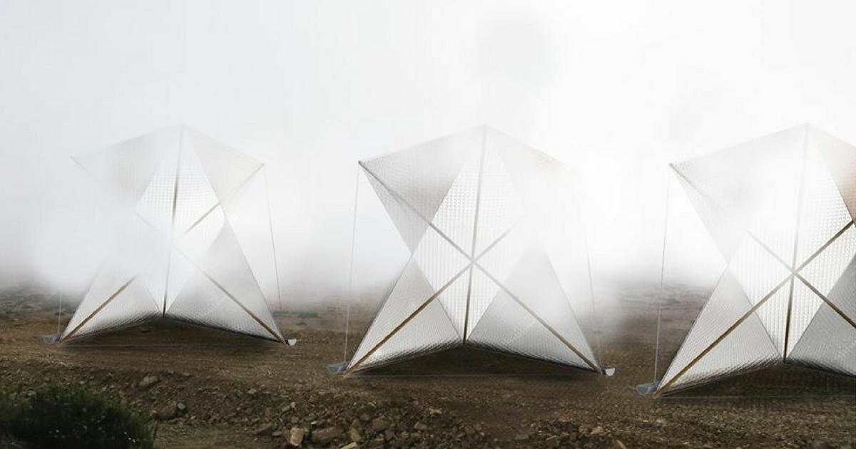 Come trasformare la nebbia in acqua: ecco il dispositivo anti-siccità