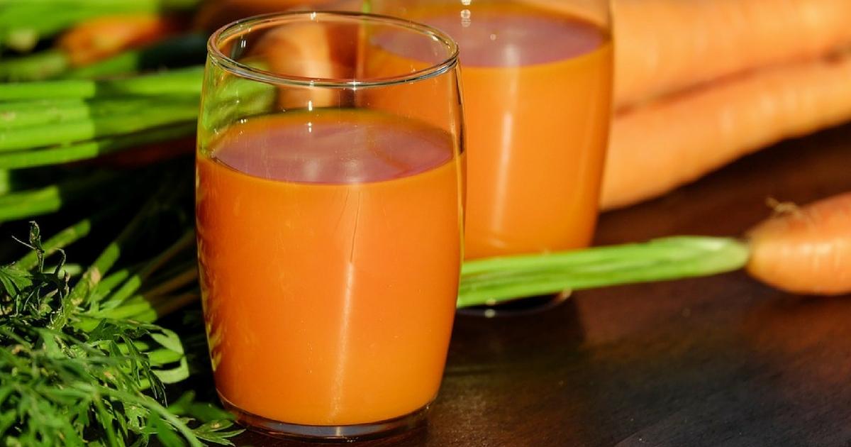 Centrifugati di verdure: carote e zenzero