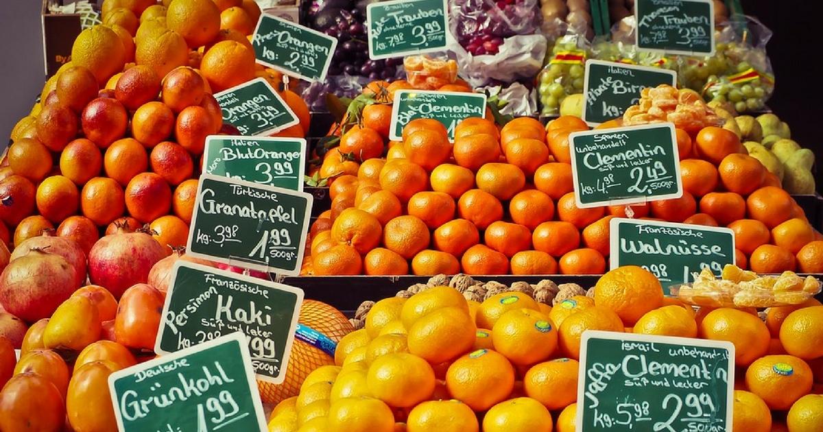 Agrofarmaci su frutta e verdura: come difendersi