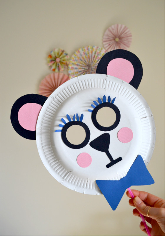 4 Maschere Di Carnevale Per Bambini Fai Da Te Ambiente Bio