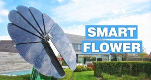 Smartflower: il pannello fotovoltaico che si muove come un girasole