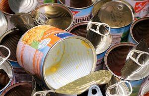 Cibo in scatola: trovato BPA nel 40% dei campioni