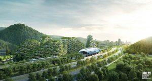 Stefano Boeri Architetti e la Città Foresta in Cina