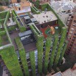 Giardino verticale: il più alto del mondo è a Bogotà, in Colombia