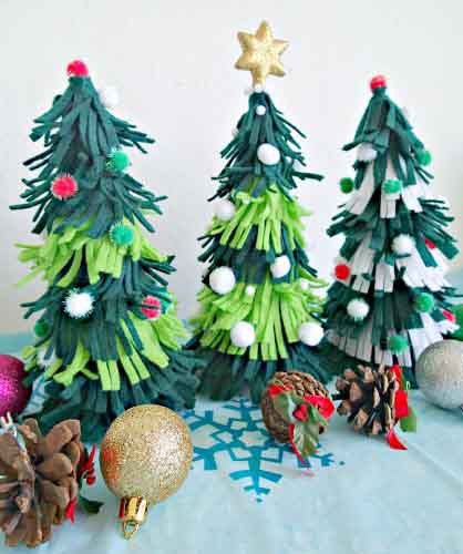 addobbi natalizi in pannolenci