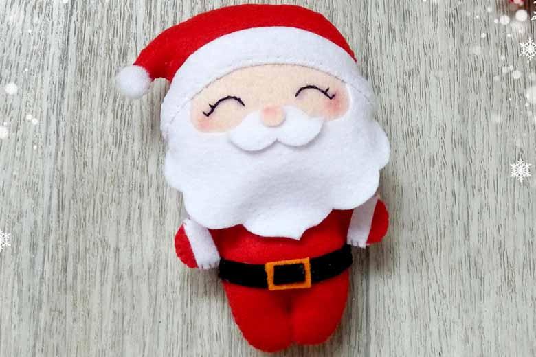 Super Addobbi natalizi in pannolenci: 4 semplici idee fai da te  PP47