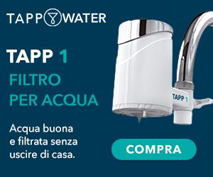 tapp water filtri per acqua biodegradabili